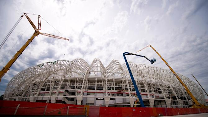 General Views of Estadio Beira Rio - FIFA World Cup Venues Brazil 2013