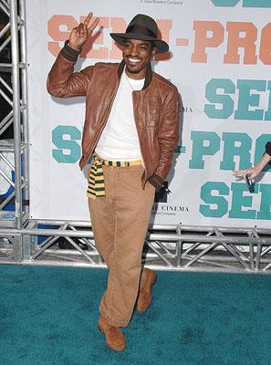 Andre Benjamin at the Los Angeles premiere of New Line Cinema's Semi-Pro