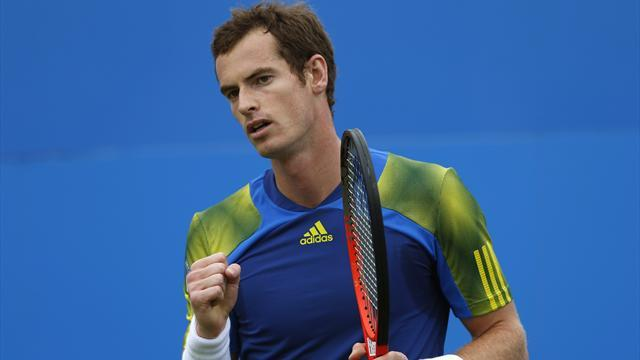 Tennis - Murray and Djokovic win exhibition matches