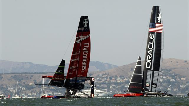 Sailing - New Zealand shrugs off America's Cup loss