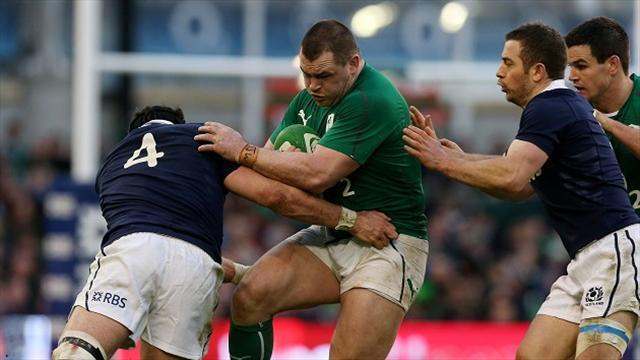Rugby - It's all about passion for Healy