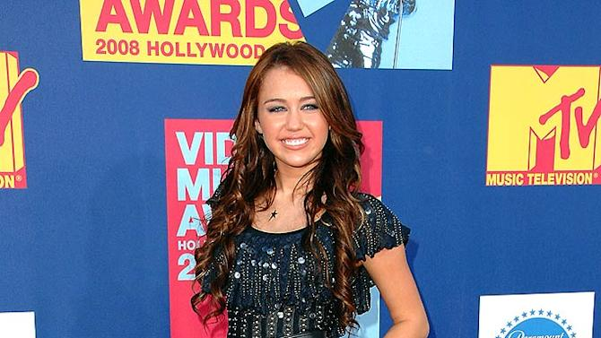 Cyrus Miley MTV Music Aw