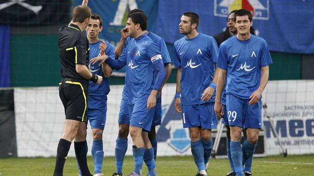 European Football - Levski Sofia want result in derby overturned