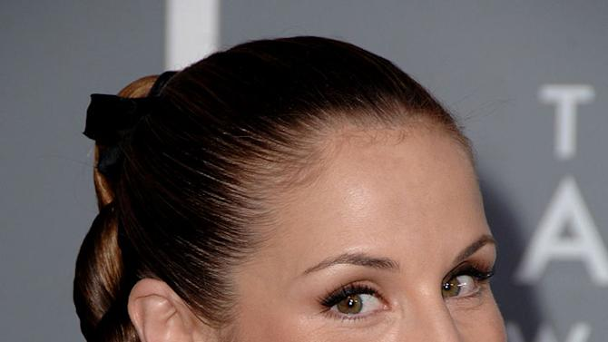 Emily Robison of the Dixie Chicks at The 49th Annual Grammy Awards.