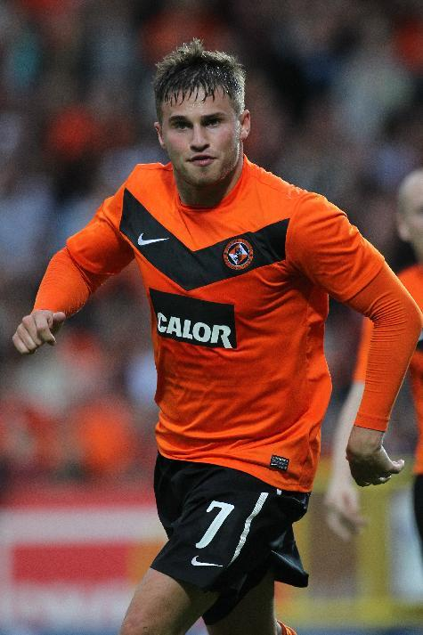 Dundee United's finances were helped by the sale of David Goodwillie