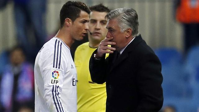 Champions League - Ronaldo raring to go after La Liga ban, Ancelotti says