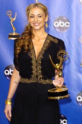 "Drea de Matteo of ""The Sopranos"" Outstanding Supporting Actress in a Drama Series Emmy Awards - 9/19/2004"