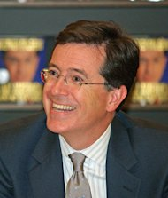 Comedy Central television host Stephen Colbert is now in charge of a Political Action Committee.