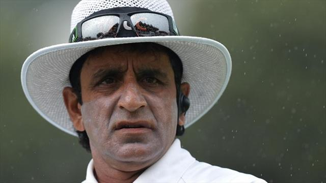 Cricket - Umpire Rauf charged in IPL betting scandal