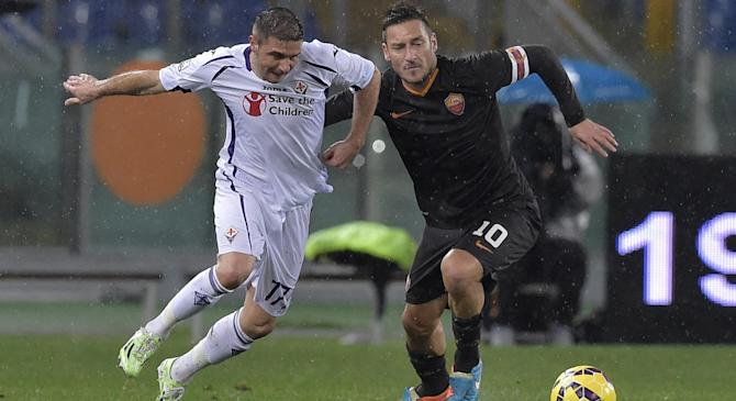 Video: AS Roma vs Fiorentina