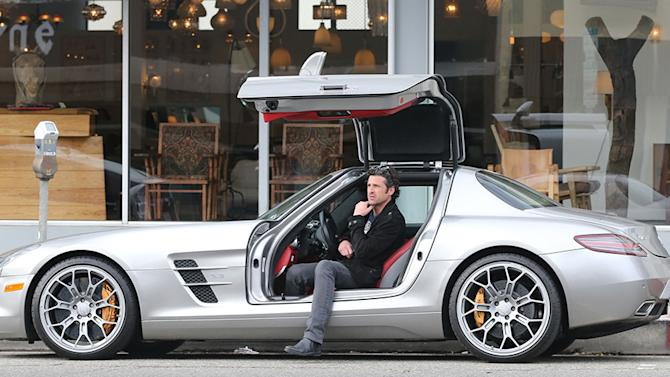 Exclusive... Patrick Dempsey Shops For Furniture