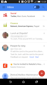 Google to Release New Gmail User Interface for Android Users image gmail update 2