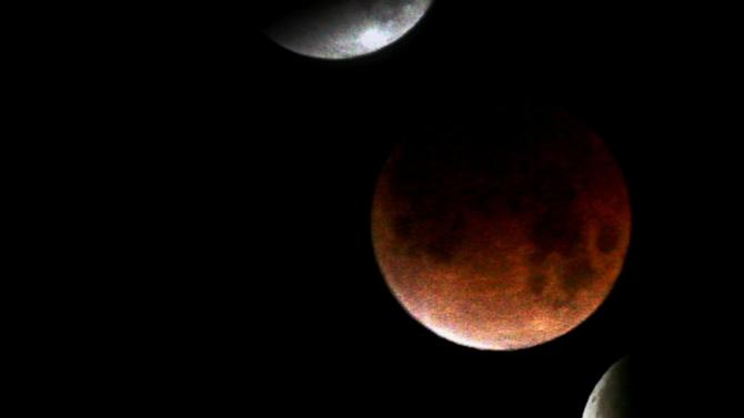 Rare 'Blood Moon' Lunar Eclipse Dazzles Sky-Gazers