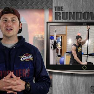 The STACK Rundown // Kevin Love High Altitude Workout, Jon Jones Incredible Deadlift and Mighty Mights Football Team Doing The Nae Nae