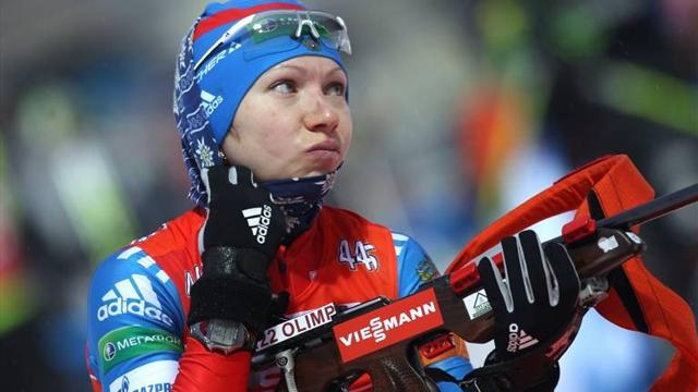 Biathlon - Russian Starykh out of Games after positive test