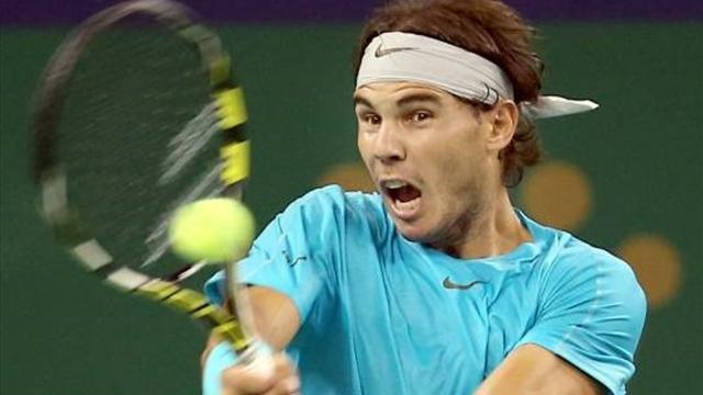 Tennis - Nadal and Djokovic reach quarters, Ferrer and Berdych dumped out