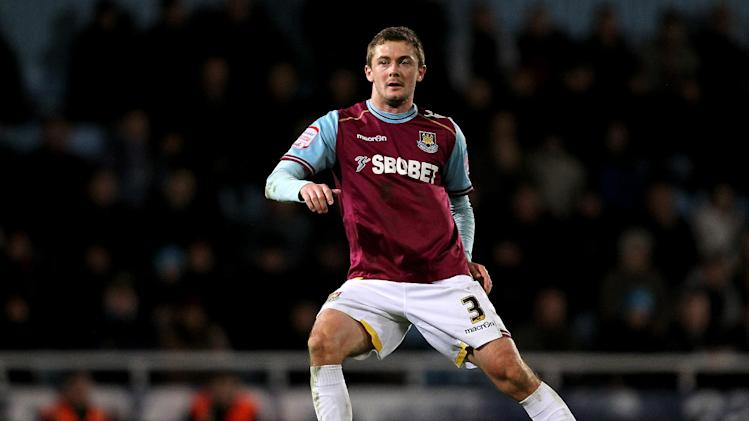 George McCartney was on loan at West Ham last season
