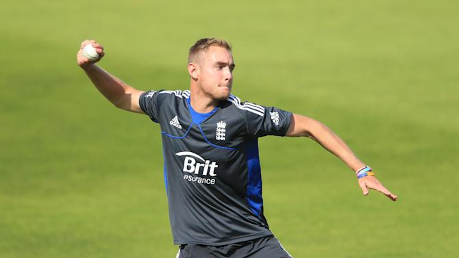 Stuart Broad is set to captain England in their second warm-up match in India