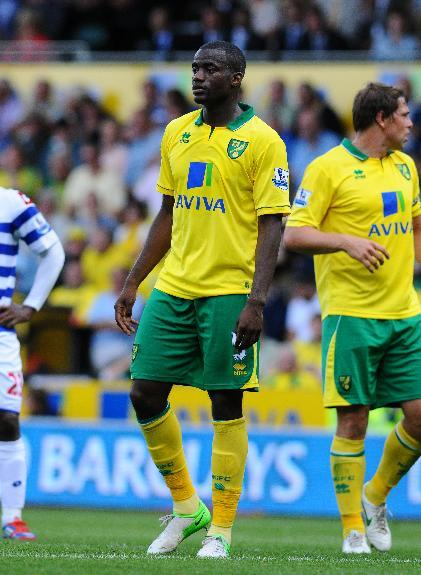 Sebastien Bassong has allegedly been the subjuct of racist comments