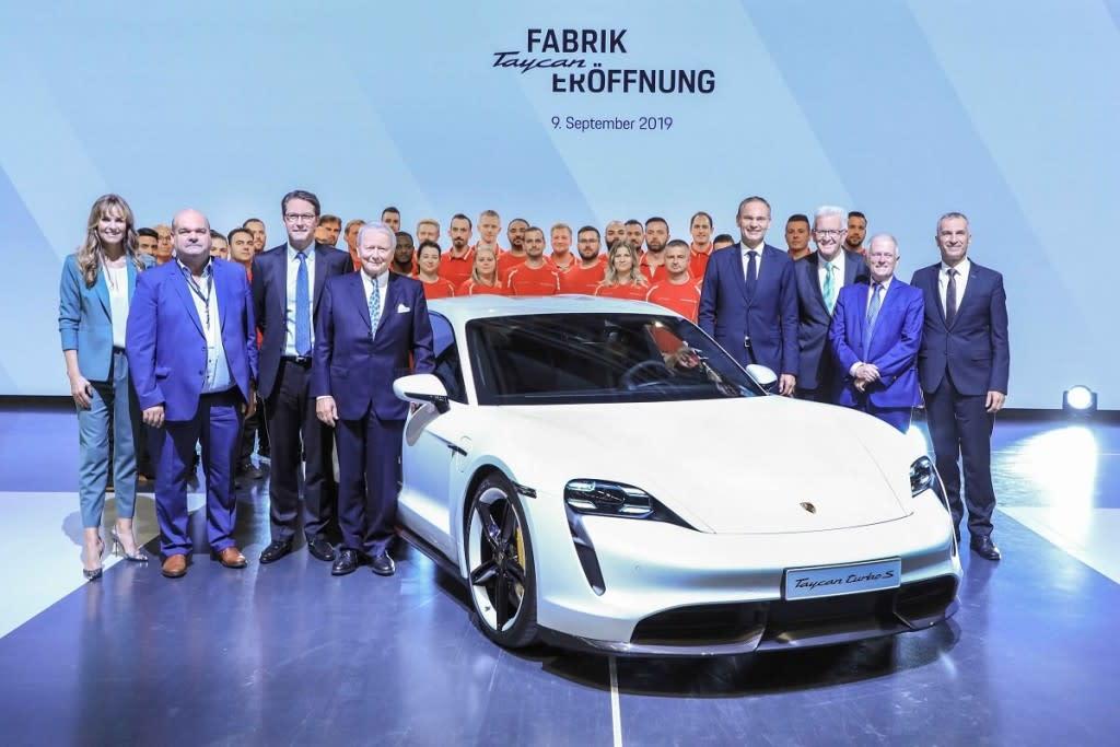 【2019法蘭克福車展】Porsche為生產純電跑車Taycan啟用全新廠區