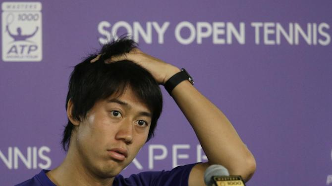Kei Nishikori pulls out of Japan's Davis Cup tie