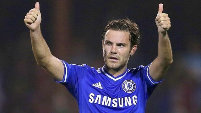 Premier League - Manchester United agree deal to sign Juan Mata