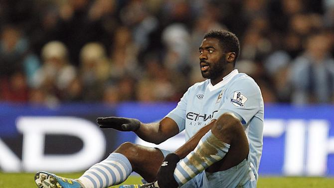 Kolo Toure (pictured) would welcome former Arsenal team-mate Robin van Persie to Manchester City