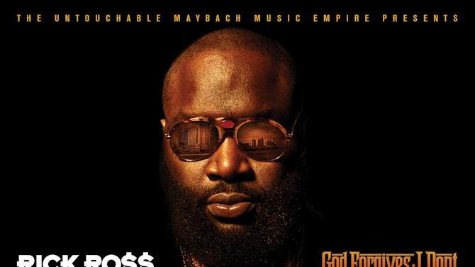 "This CD cover released by Island Def Jam Music Group shows the latest release by Rick Ross, ""God Forgives, I Don't."" (AP Photo/Island Def Jam Music Group)"