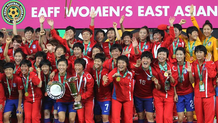 South Korea Japan Soccer East Asian Cup