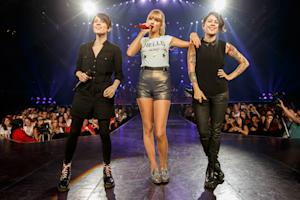 Taylor Swift Brings Out Tegan and Sara in L.A