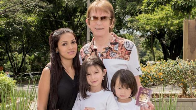 Sean McCarthy and Patricia McCarthy Rodriguez with their children, Natasha and Chloe, won a ruling from European Union judges which could open UK borders to large numbers of non-EU nationals