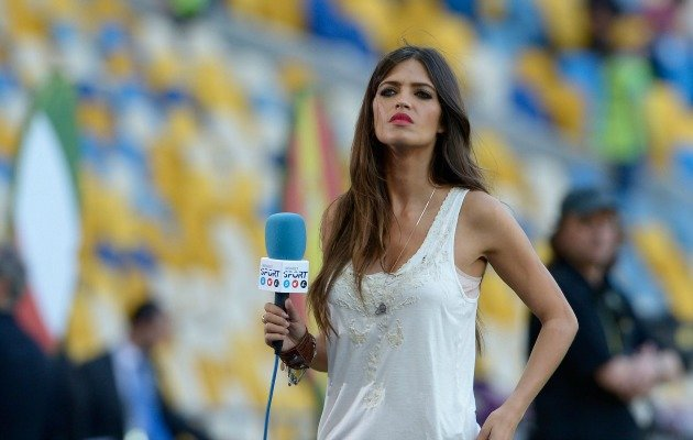 Iker Casillas' long-term girlfriend Sara Carbonero. (Getty Images)