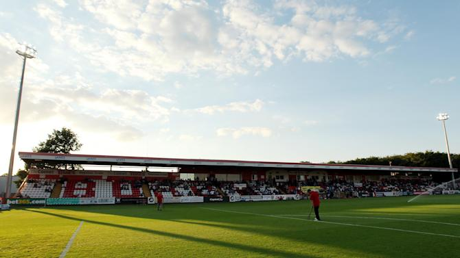 Soccer - Capital One Cup - First Round - Stevenage v Ipswich - Lamex Stadium
