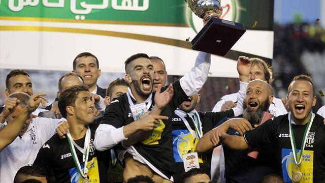 Entente Setif win Algerian double