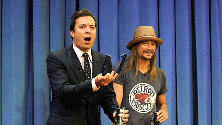 Fallon Kid Rock Horse Shoe