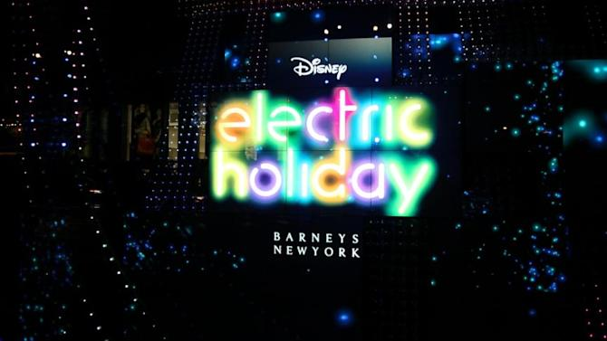 Barneys New York's Electric Holiday