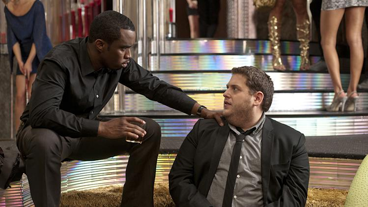 Get Him to the Greek Production Photos 2010 Sean Combs Jonah Hill