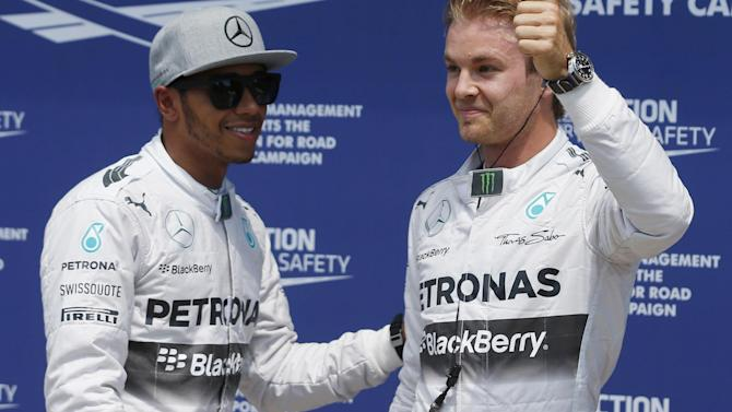 Formula 1 - Hamilton not relying on Rosberg trouble