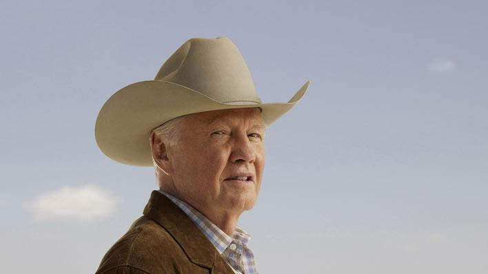 "Jon Voight stars as Clint Thatcher in ""Lone Star."""