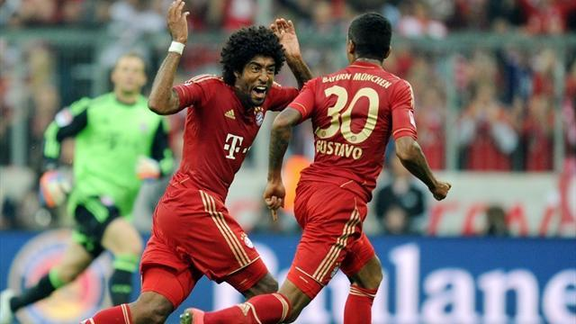 Bundesliga - Brazil want Bayern pair at training, not German Cup final
