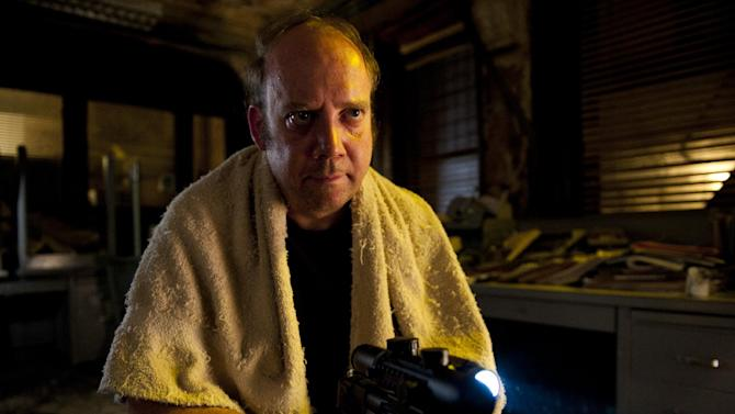 """This film image released by Entertainment One shows Paul Giamatti in a scene from """"Cosmopolis."""" (AP Photo/Entertainment One)"""