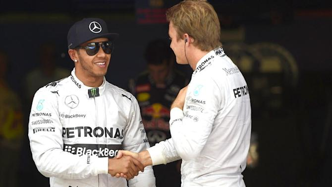 Formula 1 - Hamilton: Rosberg is my friend and we're 'cool again'