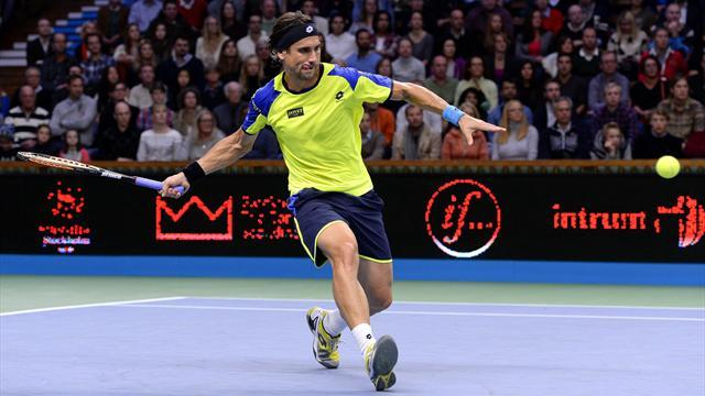 Tennis - Ferrer ousts Nadal, faces Djokovic in Paris final