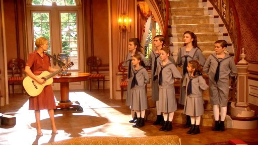 "Carrie Underwood and the Von Trapp children in ""The Sound of Music Live!"""