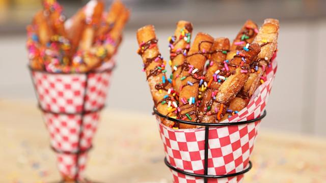 Glaze-Lovers Need to Try These Doughnut Fries!