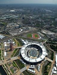 An aerial view of London's Olympic Park in June 2012. British authorities insisted Thursday that Olympic security would not be compromised after having to draft in an extra 3,500 troops because a private security firm failed to provide enough guards