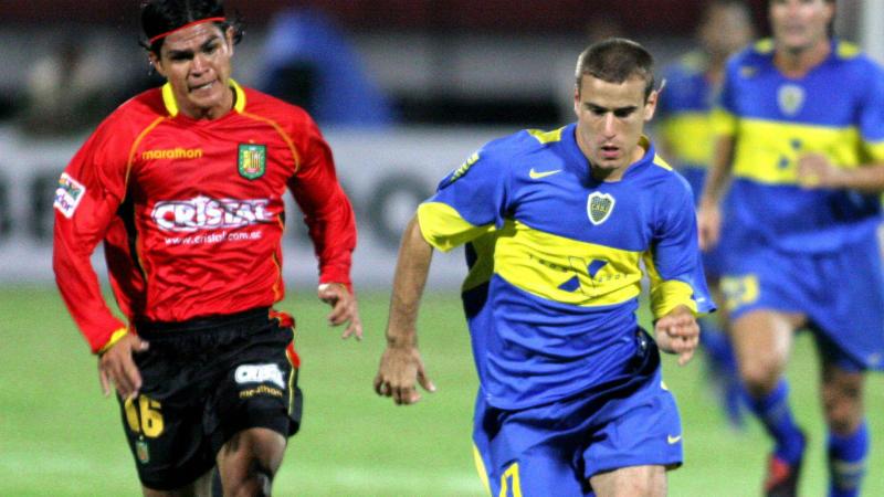 拉科鲁尼亚昆卡Boca Copa Libertadores 2005