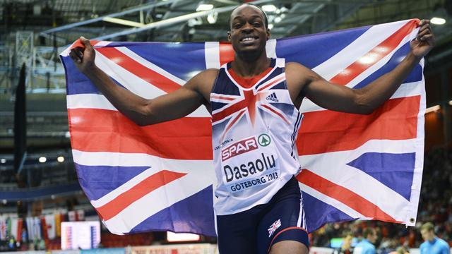 Athletics - Dasaolu delays outdoor season following injury