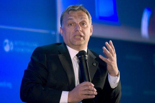 Hungarian Prime Minister Victor Orban