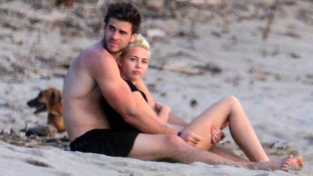 Miley and Liam's Romantic Getaway